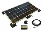 Solar Panels, Regulators and Fitting Kits